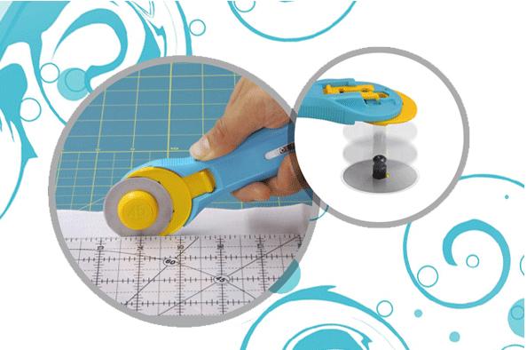 řezací kolečko Olfa 45mm Aqua-1