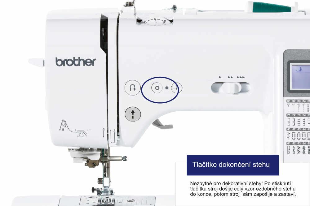 šicí stroj Brother Innov-Is A80 + stolek WT15 ZDARMA-4
