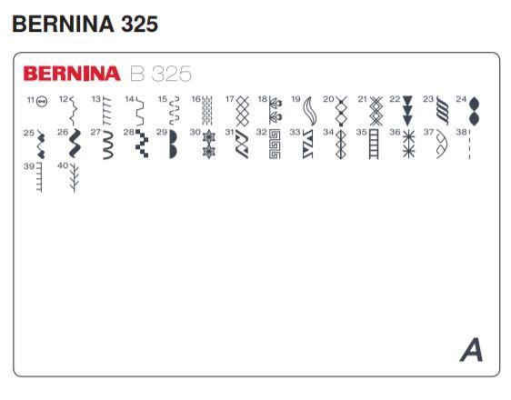 šicí stroj Bernina 325-6