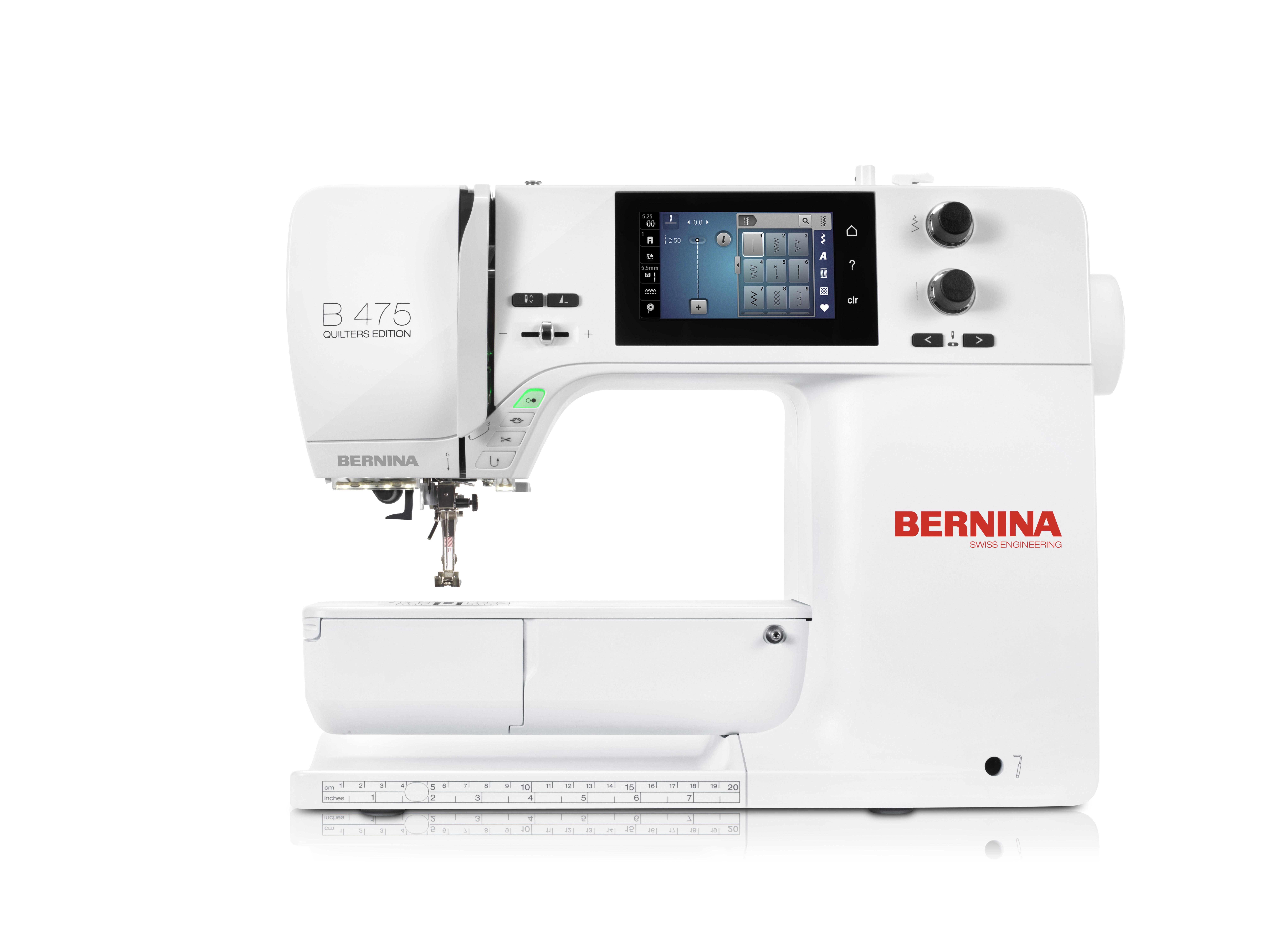 šicí stroj Bernina 475QE-1