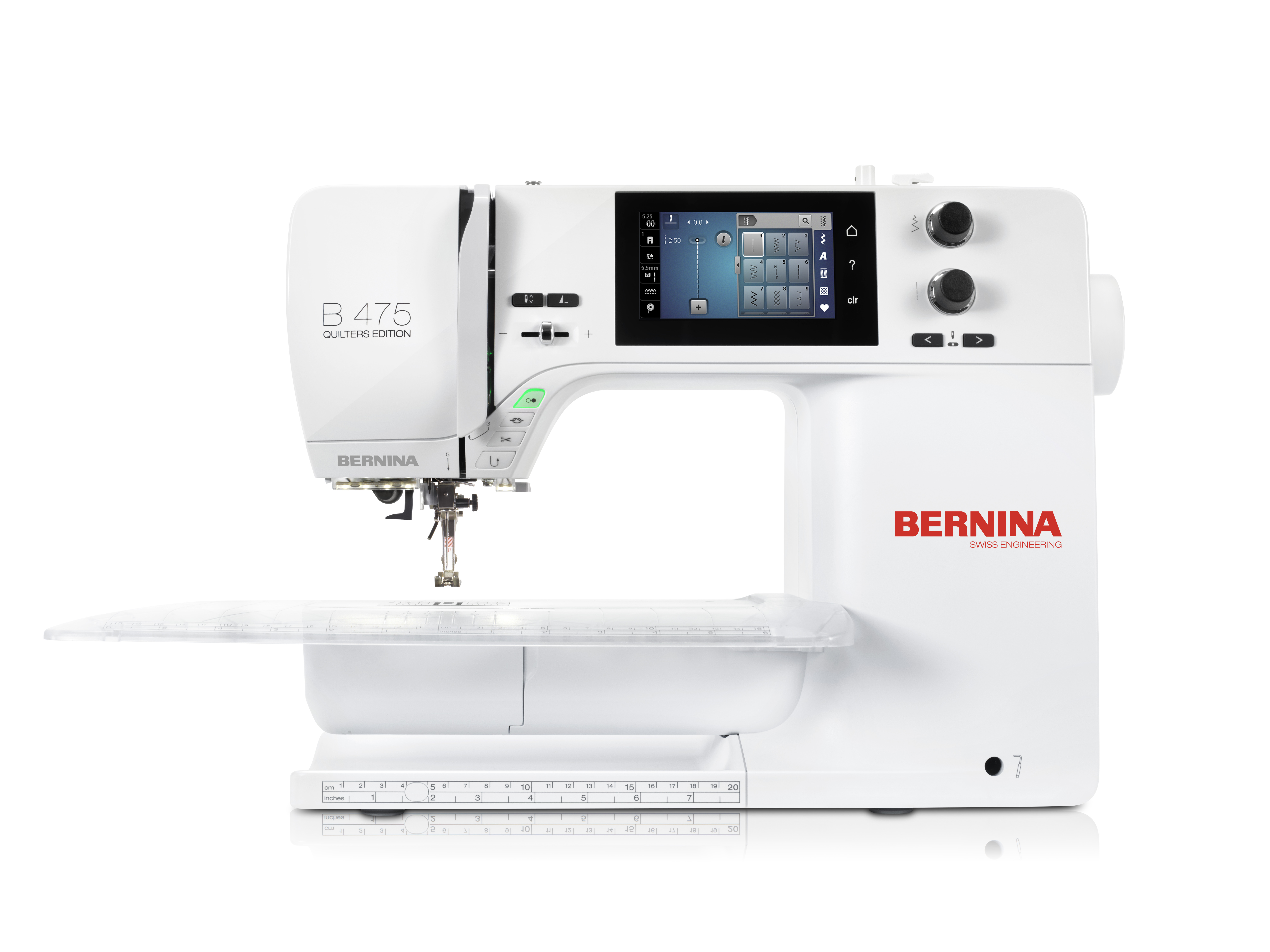 šicí stroj Bernina 475QE-2