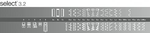 šicí stroj Pfaff Select 3.2-5