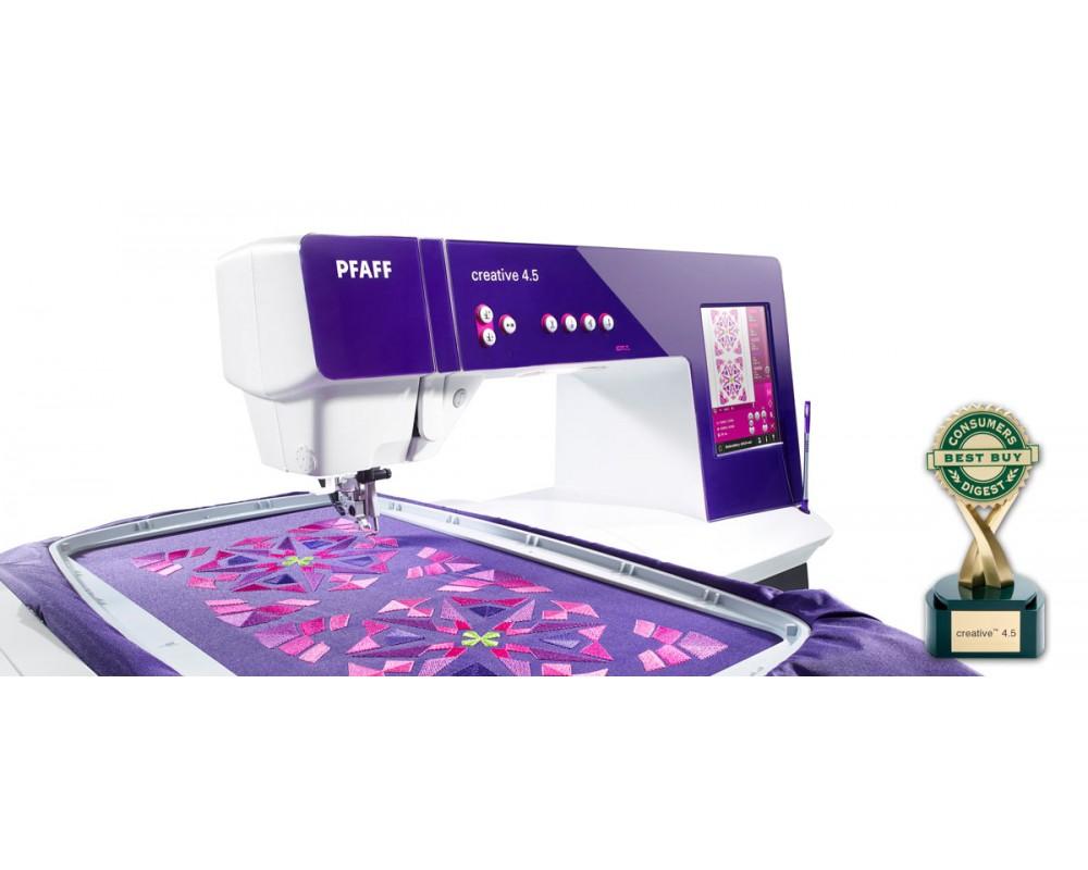 šicí a vyšívací stroj Pfaff Creative 4.5-2