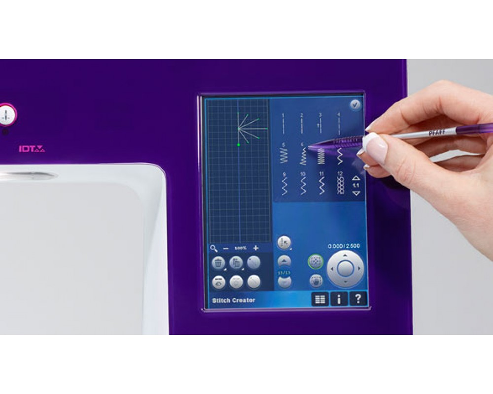 šicí a vyšívací stroj Pfaff Creative 4.5-4