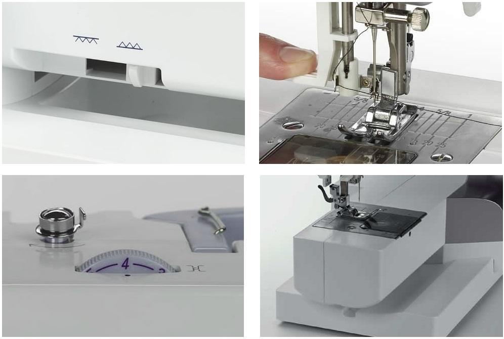 šicí stroj Bernette Milan 5 + sada kvalitních jehel Organ ZDARMA -3