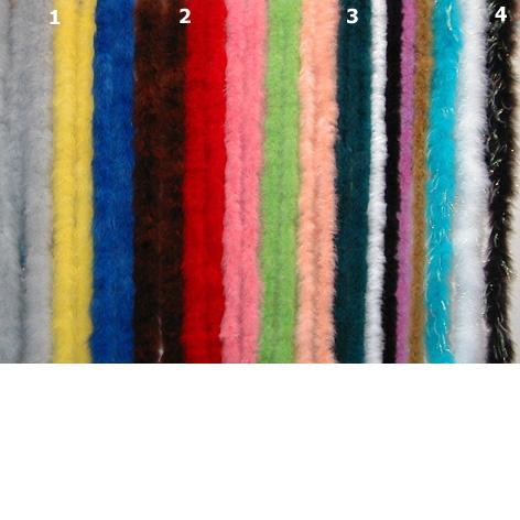 střední barevné
