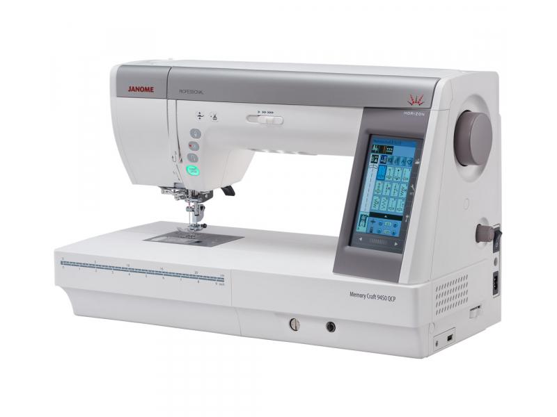 šicí stroj Janome MC 9400 QCP + dárek-3
