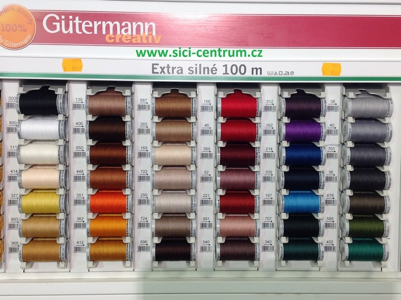 nit Gütermann extra silné - na kůži 100m-2