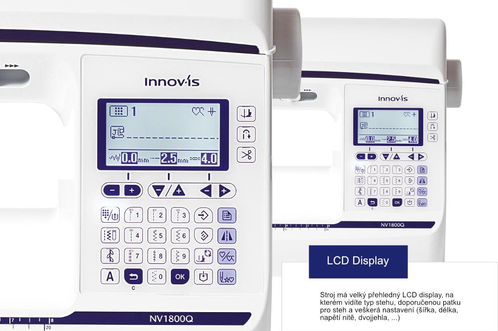 šicí stroj Brother NV 1800 + quiltovací sada v hodnotě 1200Kč ZDARMA-8