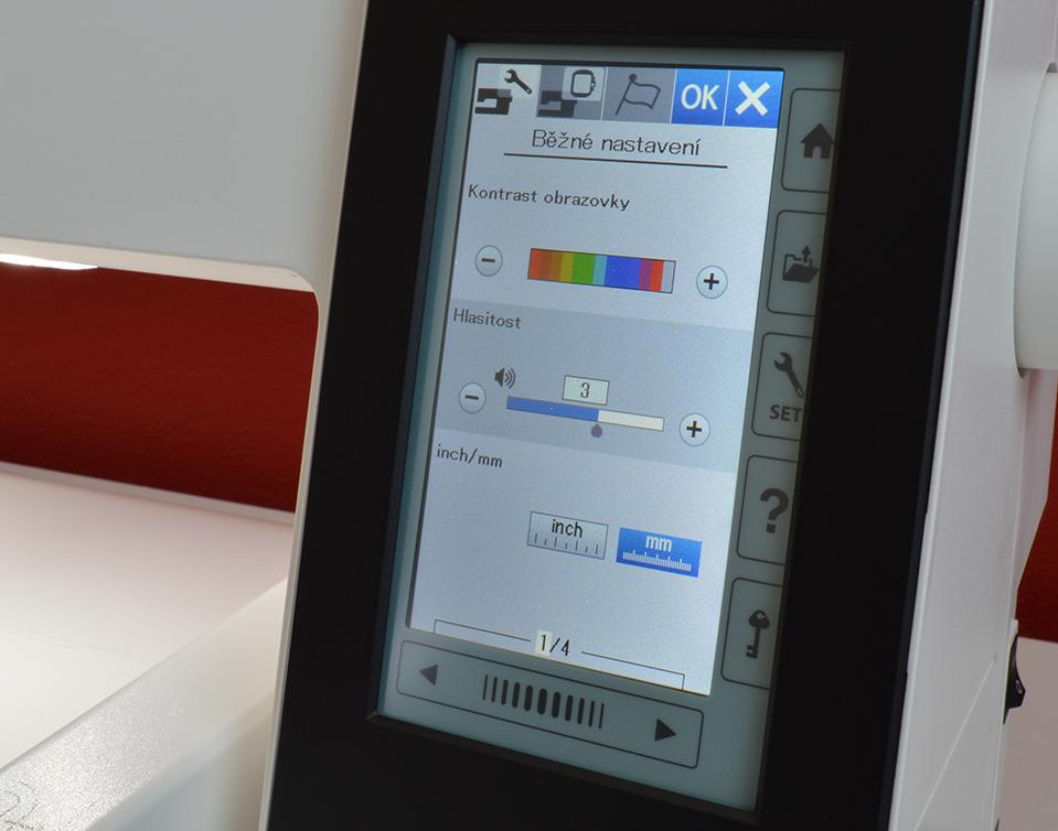 vyšívací stroj Janome 500 E + vyšívací sada ZDARMA-5