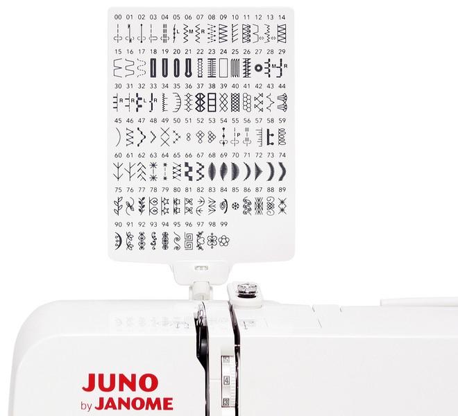 šicí stroj JUNO J100 + sada kvalitních jehel Organ ZDARMA-3