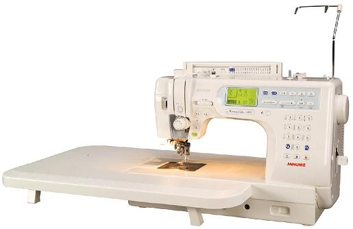 šicí stroj Janome MC 6600 Profesional + záruka 5-let-3
