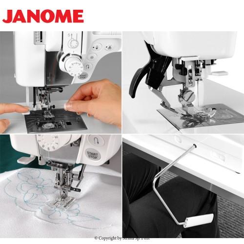 šicí stroj Janome MC 6600 Profesional + záruka 5-let-6