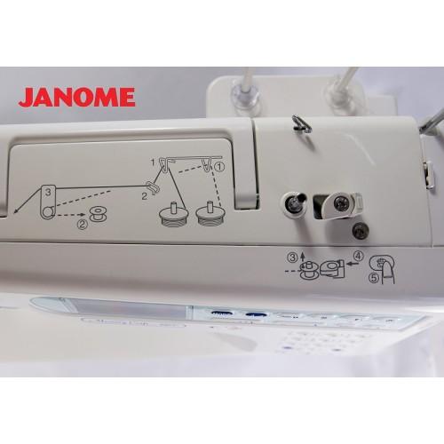 šicí stroj Janome MC 6600 Profesional + záruka 5-let-8