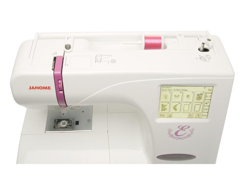 vyšívací stroj Janome MC 350 E-1