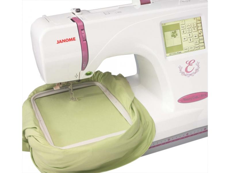 vyšívací stroj Janome MC 350 E + vyšívací software Janome Jr. ZDARMA-2