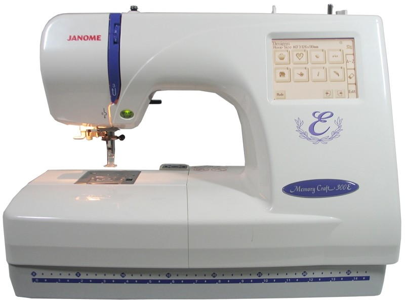 vyšívací stroj Janome MC 350 E-5