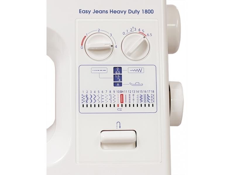 šicí stroj Janome HD1800 Easy Jeans + záruka 5-let-1