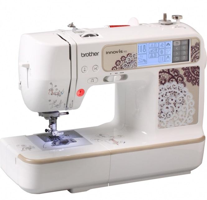 šicí a vyšívací stroj Brother NV 955 + software PeDesign Plus ZDARMA-6