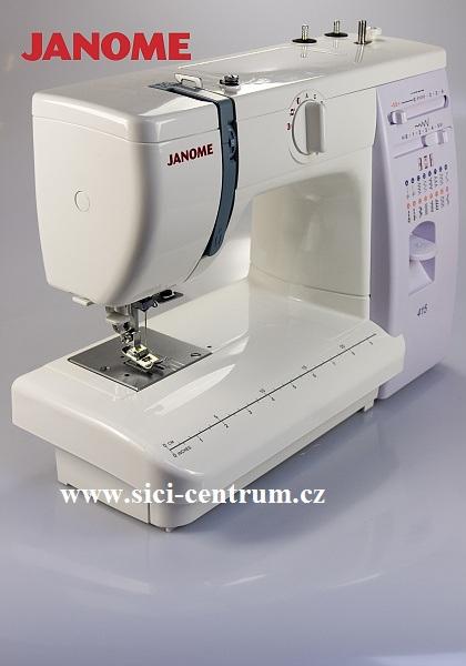 šicí stroj Janome 415-4