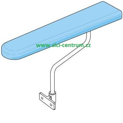 stabilní žehlící prkno Comel Comelux A -odsávání 120W, vyhřívání s termostatem.-1