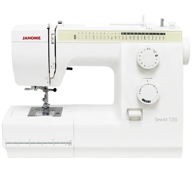 šicí stroj Janome SEWIST 725S + dárek-1
