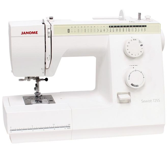 šicí stroj Janome SEWIST 725S + dárek-2