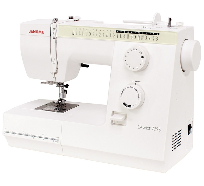 šicí stroj Janome SEWIST 725S + dárek-4