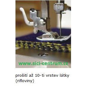šicí stroj Veronica Optima 200  + sada kvalitních jehel Organ ZDARMA-3