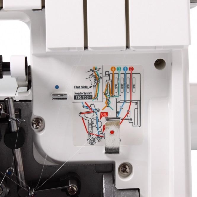 overlock Bernina OW700D 3,4nitný + 5let záruka-5