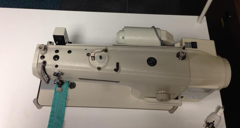 prům.stroj SEWMAQ SWD 8700A-7 se servomotorem M-70E v hlavě stroje.-1
