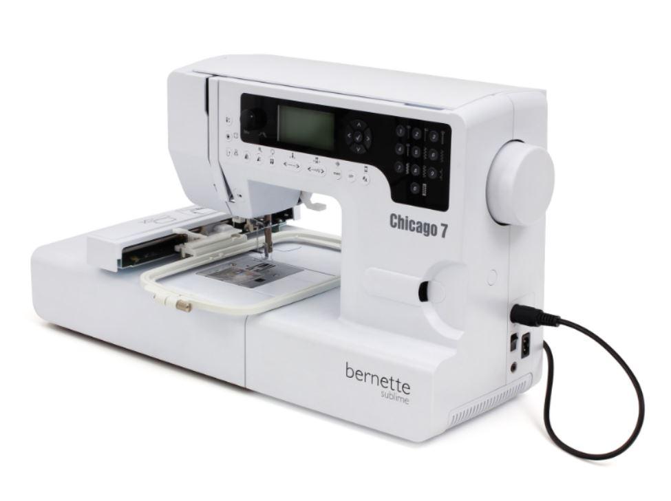 šicí a vyšívací stroj Bernette Chicago 7-4