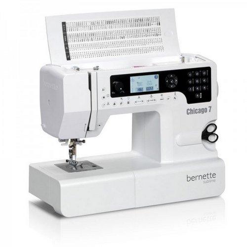 šicí a vyšívací stroj Bernette Chicago 7-6