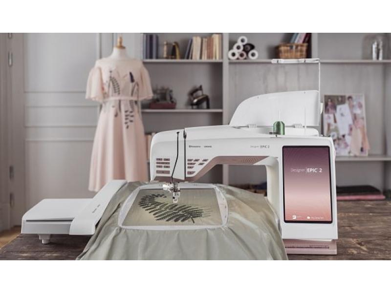 šicí a vyšívací stroj Husqvarna Designer EPIC-2