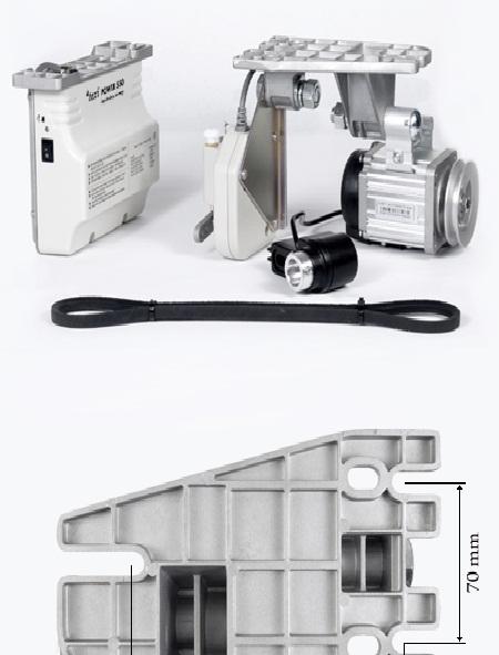 motor servo + synchronizátor 550W-1