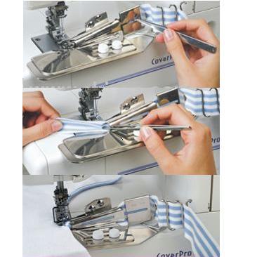 patka na všívání pásků 12-42mm Janome 795844009-1