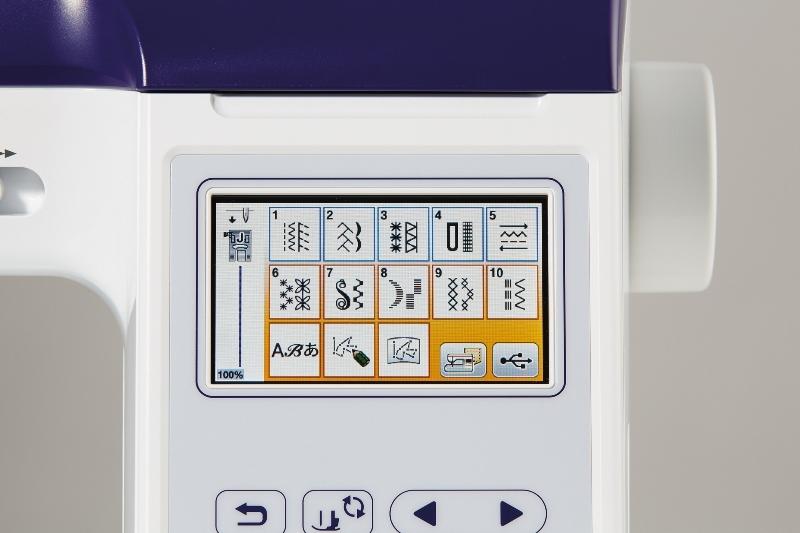 šicí a vyšívací stroj Brother F480E + dárek-6