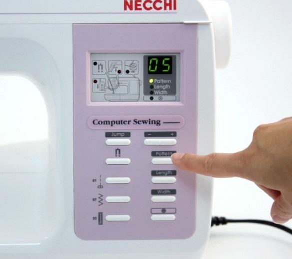 šicí stroj Necchi 420-2