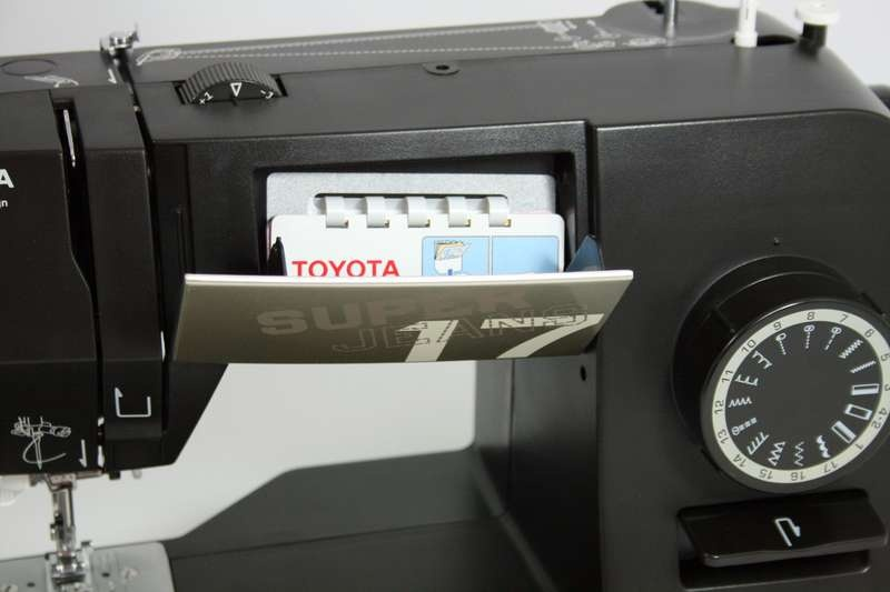 šicí stroj Toyota Super Jeans 17 XL-3
