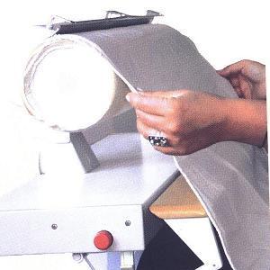 potah lněný na mandl Pfaff, Ironnette šíře 85cm-1