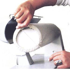 potah lněný na mandl Pfaff, Ironnette šíře 85cm-2