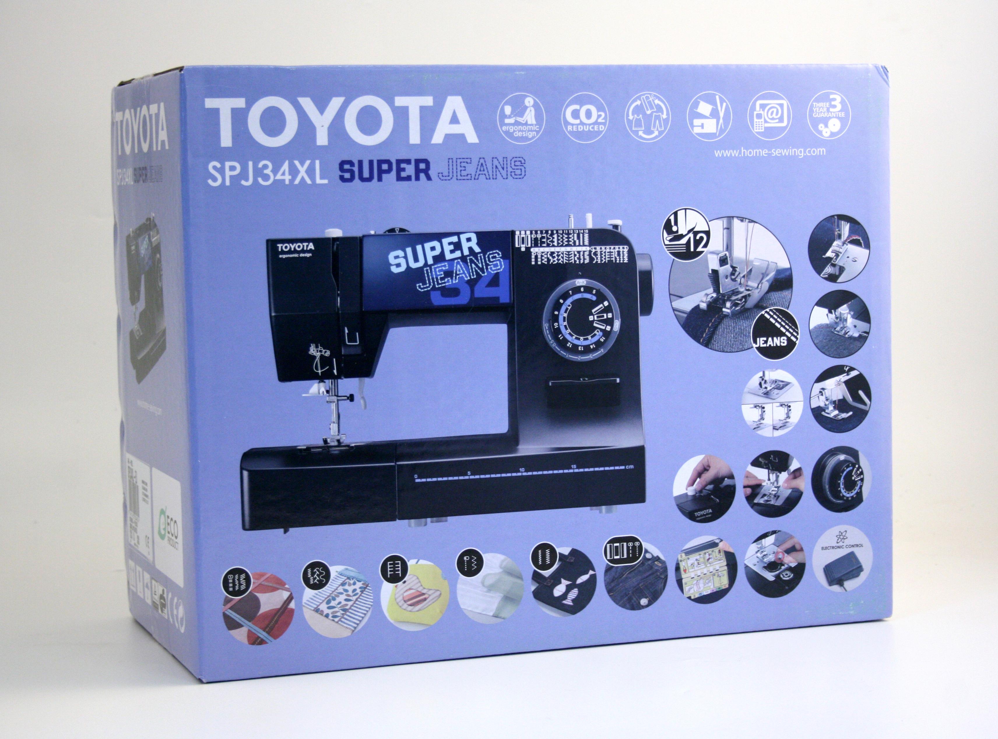 šicí stroj Toyota Super Jeans 34 XL-5