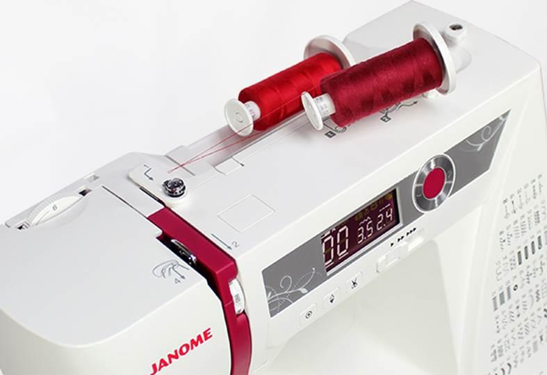 šicí stroj Janome 5060DC + rozšiřovací stoleček-2