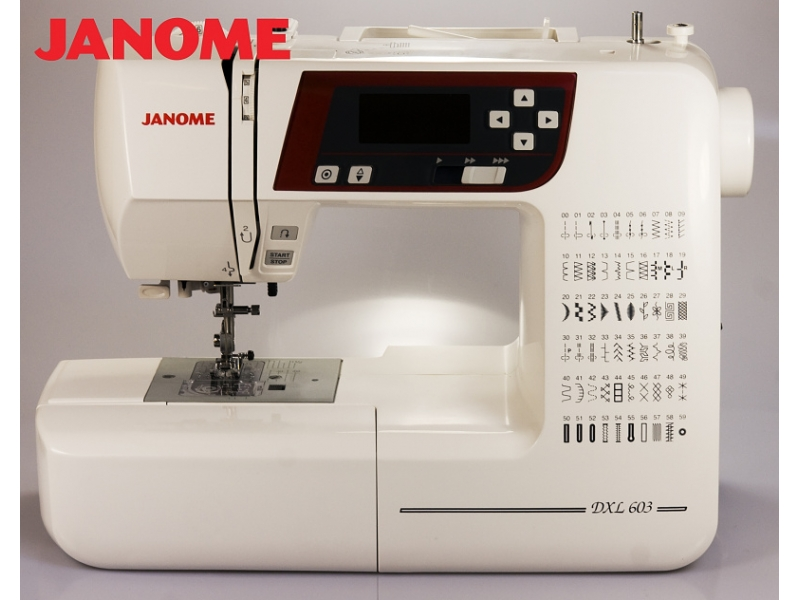 šicí stroj Janome 603 DXL-7