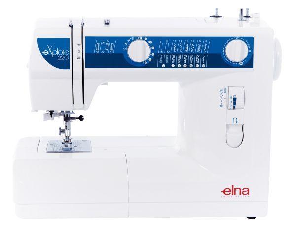 šicí stroj Elna 220eX + dárek-1