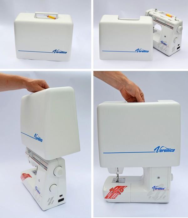 ochranný kufr pro šicí stroje Veronica 100, 200-3