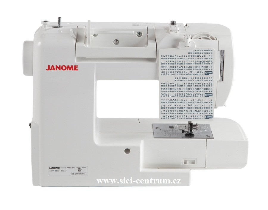 šicí stroj Janome 607 TXL+ přídavný stolek-4