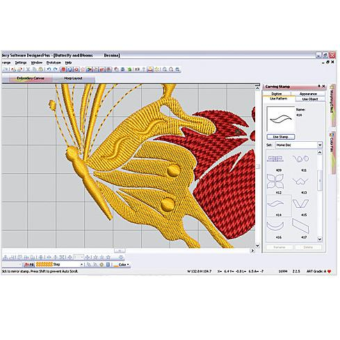 vyšívací software Bernina Designer Plus 8-2