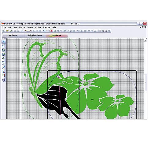 vyšívací software Bernina Designer Plus 8-4