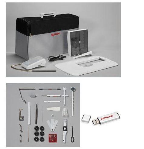 šicí a vyšívací stroj Bernina 880 Plus + 5let záruka  + sada kvalitních jehel Organ ZDARMA -1
